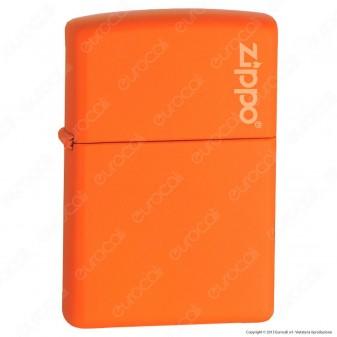 Accendino Zippo Mod. 231-ZL Arancione Matte - Ricaricabile Antivento