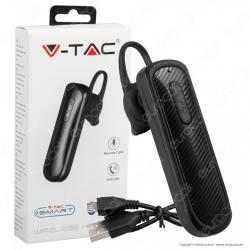 V-Tac VT-6700 Auricolare Bluetooth Headset Colore Nero - SKU 7700