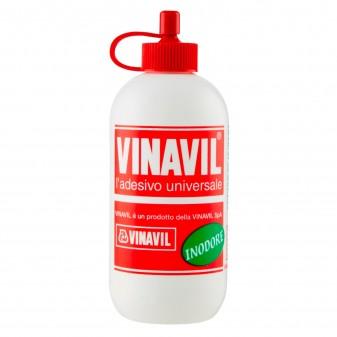Vinavil Adesivo Universale Colla Vinilica Inodore Trasparente - Flacone da 100g