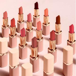 L'Oréal Paris Color Riche Free the Nudes Rossetto Lunga Durata Colore 04 No Cage
