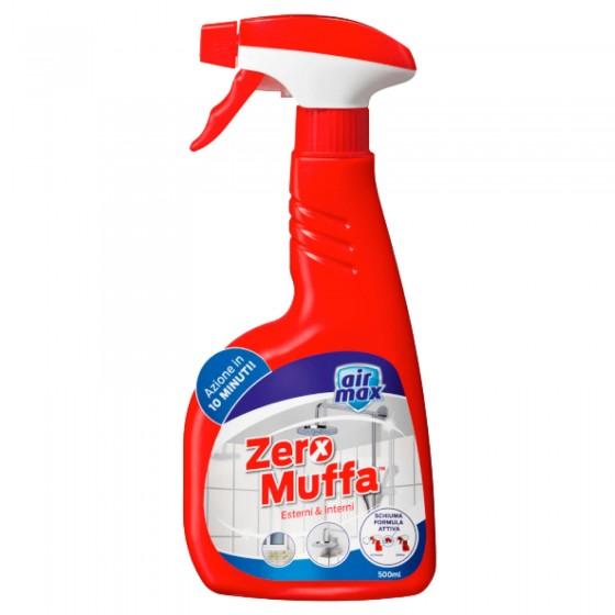 Air Max Zero Muffa Interni e Esterni con Funzioni Spray e Schiuma - Flacone da 500ml