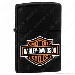 Accendino Zippo Mod. 218HD-H252 Harley-Davidson® Logo - Ricaricabile Antivento