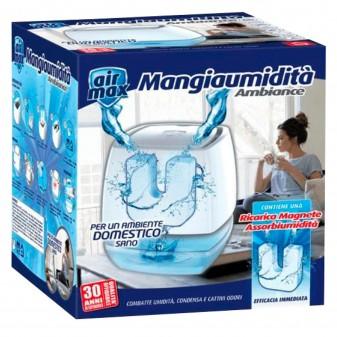 Air Max Ambience Mangia Umidità - Confezione con 1 Magnete Ricarica Mangiaumidità da 450g