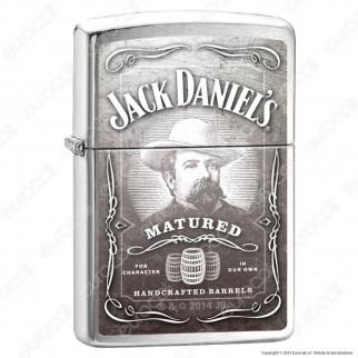 Accendino Zippo Mod. 14n044 Jack Daniels Barrels - Ricaricabile Antivento