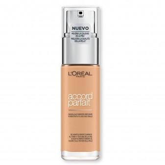 L'Oréal Paris Accord Parfait Fondotinta Fluido Naturale 3.D / 3.W Beige Doré