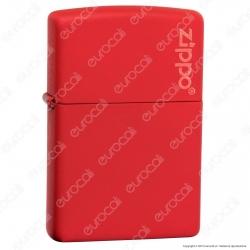 Accendino Zippo Mod. 233-ZL Rosso Matte - Ricaricabile Antivento