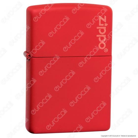 Accendino Zippo Mod. 233ZL Rosso Matte - Ricaricabile Antivento