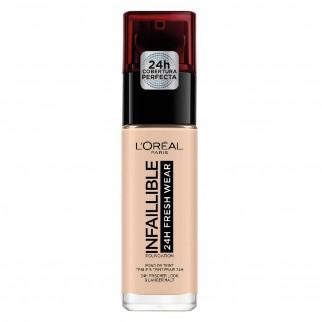 L'Oréal Paris Infaillible 24H Fresh Wear Fondotinta Liquido Coprente Waterpoof Colore 20 Ivoire