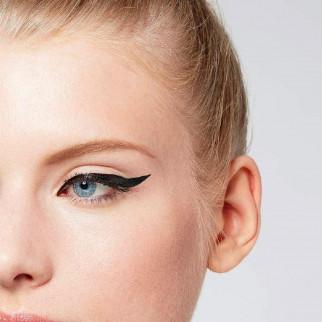 L'Oréal Paris Flash Cat Eye Superliner Eyeliner Nero Tratto Preciso e Pulito