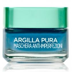 L'Oréal Paris Argilla Pura Maschera Viso Anti-Imperfezioni con Alga Marina