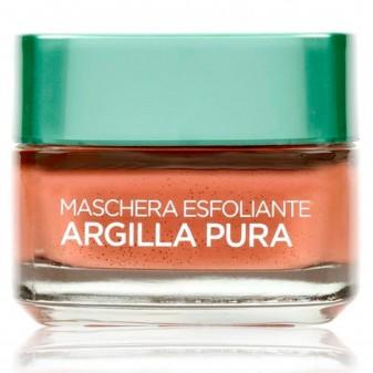 L'Oréal Paris Argilla Pura Maschera Viso Esfoliante con Alga Rossa
