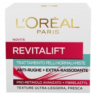 L'Oréal Paris Revitalift Crema Viso Anti-Rughe Rassodante con Pro-Retinolo