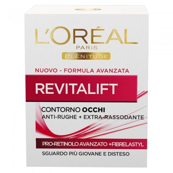 L'Oréal Paris Revitalift Crema Contorno Occhi Anti-Rughe Rassodante con Pro-Retinolo