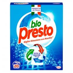 Bio Presto Classico Detersivo in Polvere per Lavatrice - Fustino da 1.1Kg