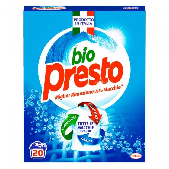 Bio Presto Classico Detersivo in Polvere per Lavatrice - Fustino da 1.1 Kg