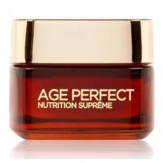 L'Oréal Paris Age Perfect Nutrition Supreme Crema-Ricca Viso Riparatrice Giorno con Miele di Manuka