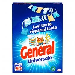 General Universale Detersivo in Polvere per Lavatrice - Fustino da 4.950g