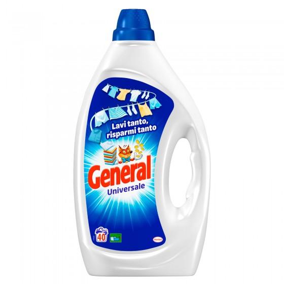 General Universale Detersivo Liquido per Lavatrice - Flacone da 2 Litri