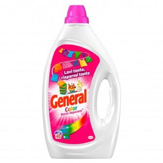 General Color Basta Separare Detersivo Liquido per Lavatrice - Flacone da 2 Litri