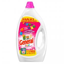 General Color Basta Separare Detersivo Liquido per Lavatrice - Flacone da 2,7 Litri