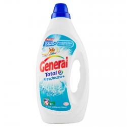 General Total Freschezza+ Detersivo Liquido per Lavatrice - Flacone da 1,35 litri