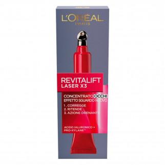 L'Oréal Paris Revitalift X3 Crema Contorno Occhi Concentrata Anti-Rughe con Pro-Xylane