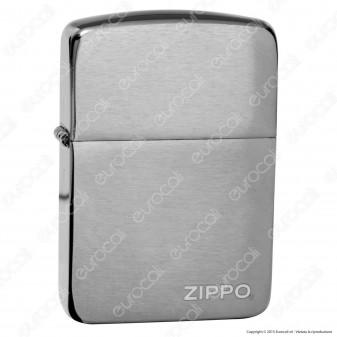 Accendino Zippo Mod. 24485 Replica Black Ice - Ricaricabile Antivento