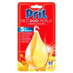 Pril Deo Duo-Perls per Lavastoviglie Limone e Arancia - Confezione da 1 Deodorante