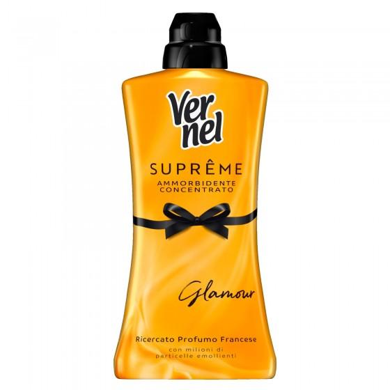 Vernel Supreme Glamour Ammorbidente Concentrato Profumo Francese - Flacone da 1.100ml