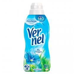 Vernel Blue Oxygen Ammorbidente Concentrato con Micro-Capsule - Flacone da 700ml