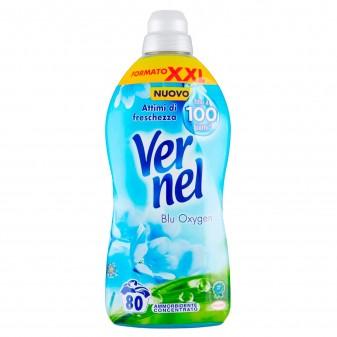 Vernel Blue Oxygen Ammorbidente Concentrato con Micro-Capsule - Flacone da 2L