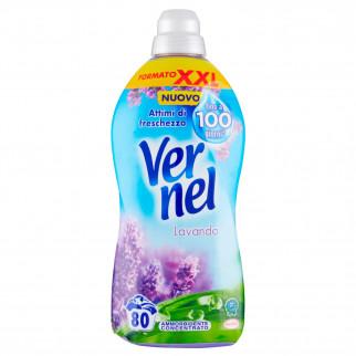 Vernel Lavanda Ammorbidente Concentrato con Micro-Capsule - Flacone da 2L