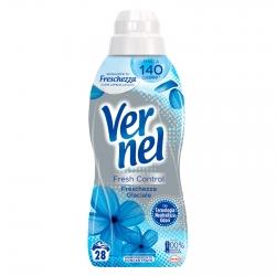 Vernel Fresh Control Freschezza Glaciale Ammorbidente Concentrato con Tecnologia Neutralizza Odori - Flacone da 700ml
