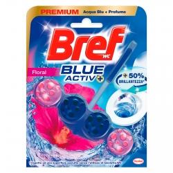 Bref WC Floral Blue Activ+ Tavoletta Detergente - 1 Confezione