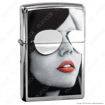 Accendino Zippo Mod. 28274 Lady Mirror - Ricaricabile Antivento
