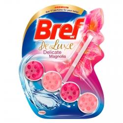 Bref WC Deluxe Delicate Magnolia Tavoletta Detergente Fragranza Raffinata - 1 Confezione