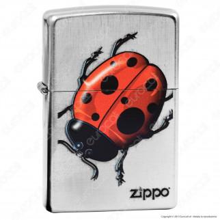 Accendino Zippo Mod. 13m024 Ladybug - Ricaricabile Antivento