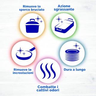 Nelsen Detersivo Liquido Extra Sgrassante 5 Azioni ai Carboni Attivi per Piatti - Flacone da 900ml