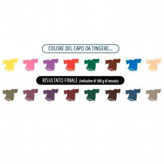 Grey Coloreria Italiana Colorante per Tessuti per Lavatrice Colore Nero Intenso - Confezione Monodose