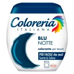 Grey Coloreria Italiana Colorante per Tessuti per Lavatrice Colore Blu Notte - Confezione Monodose