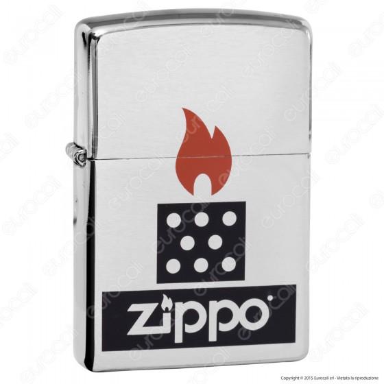 Accendino Zippo Mod. 28782 Chimney - Ricaricabile Antivento