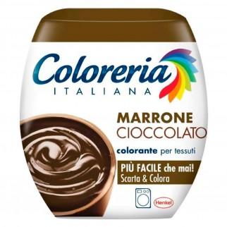Grey Coloreria Italiana Colorante per Tessuti per Lavatrice Colore Marrone Cioccolato - Confezione Monodose