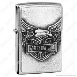 Accendino Zippo Mod. 20230 Harley-Davidson® Iron Eagle - Ricaricabile Antivento