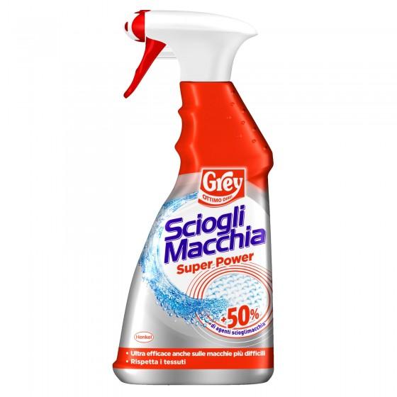 Grey Sciogli Macchia Smacchiatore Pre-Trattante per Tessuti Bianchi - Spray da 500ml