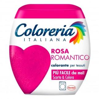 Grey Coloreria Italiana Colorante per Tessuti per Lavatrice Colore Rosa Romantico - Confezione Monodose