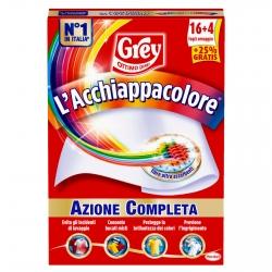 Grey L'Acchiappacolore per Lavatrice - Confezione da 20 Fogli