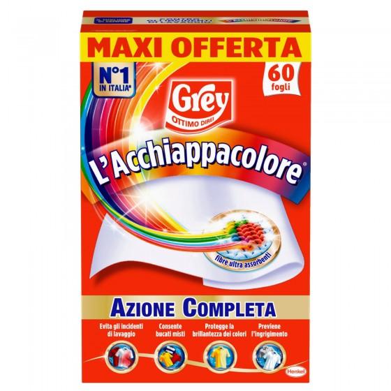 Grey L'Acchiappacolore per Lavatrice - Confezione da 60 Fogli