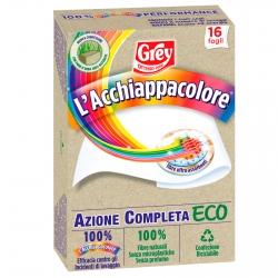 Grey L'Acchiappacolore Eco per Lavatrice - Confezione da 16 Fogli