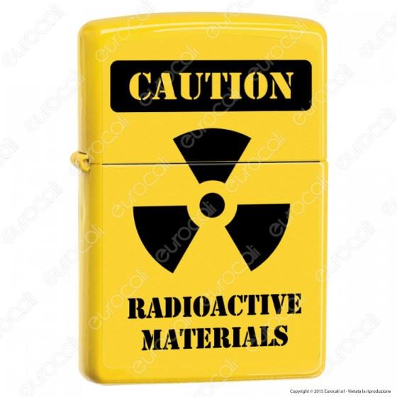 Accendino Zippo Mod. 14m004 Radioactive Sign - Ricaricabile Antivento