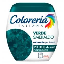 Grey Coloreria Italiana Colorante per Tessuti per Lavatrice Colore Verde Smeraldo - Confezione Monodose